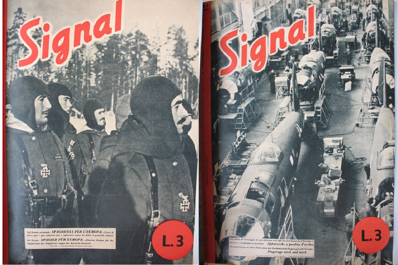"""Forme, icone, miti e linguaggi della propaganda del Terzo Reich.  Il caso della rivista """"Signal"""""""