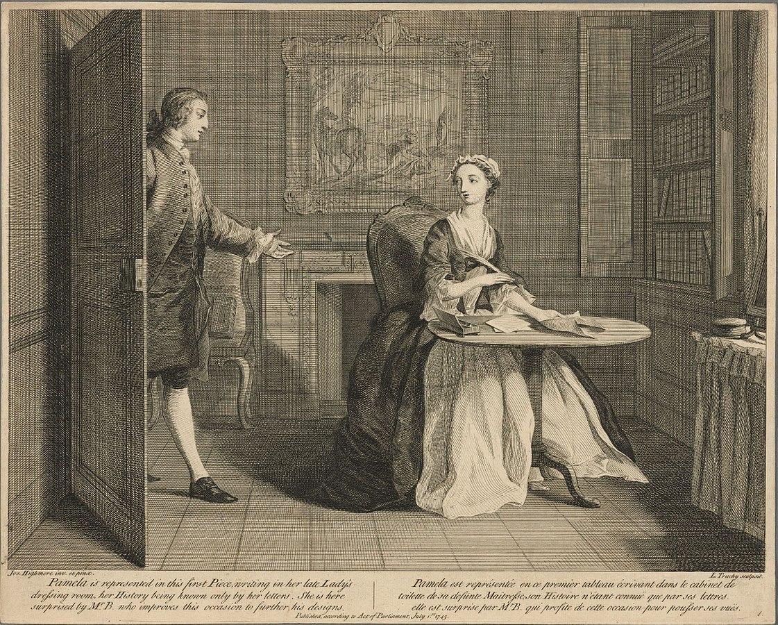 Richardson e le revisioni di Pamela: due edizioni a confronto
