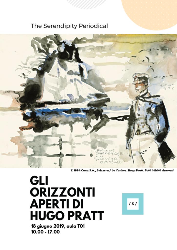 Gli orizzonti aperti di Hugo Pratt - 18 giugno 2019 appuntamento in Sapienza