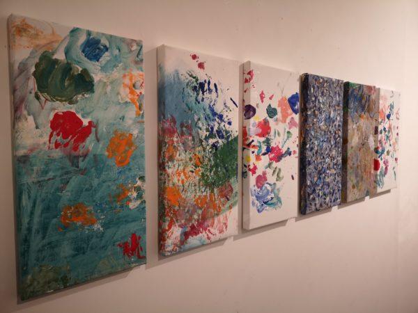 Doppia intervista alla Galleria Bruno Lisi di Roma in occasione della mostra di Claudie Laks