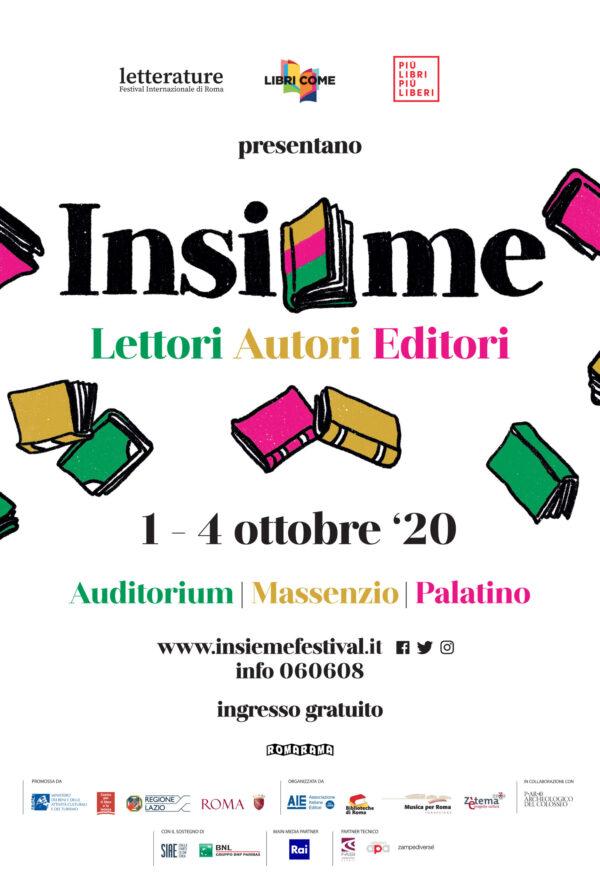 Insieme, il nuovo festival del libro di Roma per restituirci lo spazio del tempo