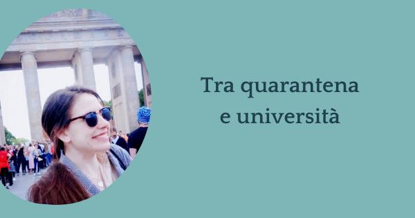 Intervista a Beatrice – Come è stato vivere quarantena e università?
