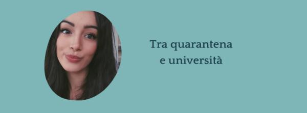 Intervista a Giorgia – Com'è stato vivere tra quarantena e università?