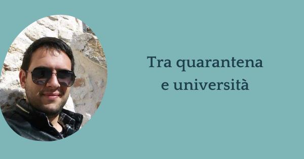 Intervista a Stefano – Com'è stato vivere tra quarantena e università?