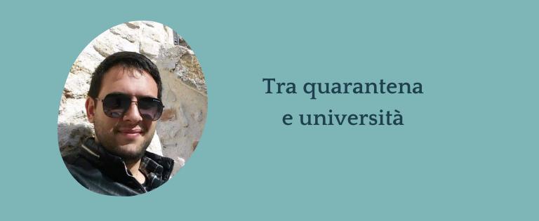 Intervista a Stefano - Com'è stato vivere tra quarantena e università?