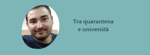 Intervista a Thomas – Com'è stato vivere tra quarantena e università?