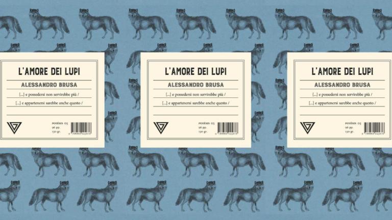 """""""L'amore dei Lupi"""" di Alessandro Brusa"""