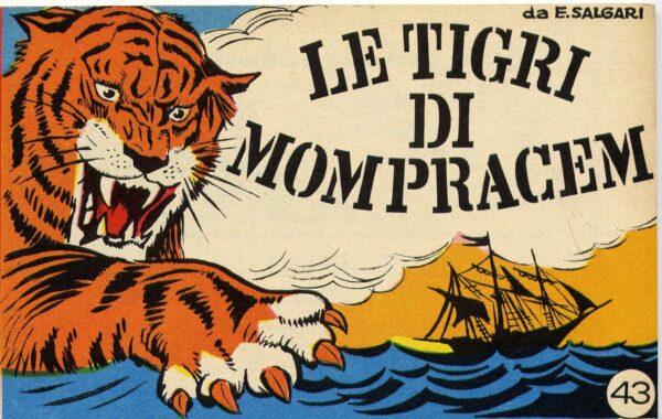 """La natura come poesia in """"Le Tigri di Mompracem"""" di Emilio Salgàri"""