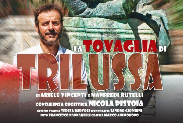 Teatro, entrare nella Roma di una volta:  'La Tovaglia di Trilussa' di Ariele Vincenti e Manfredi Rutelli